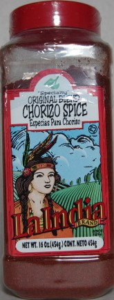 Chorizo Spice Container 16.0oz (unit)