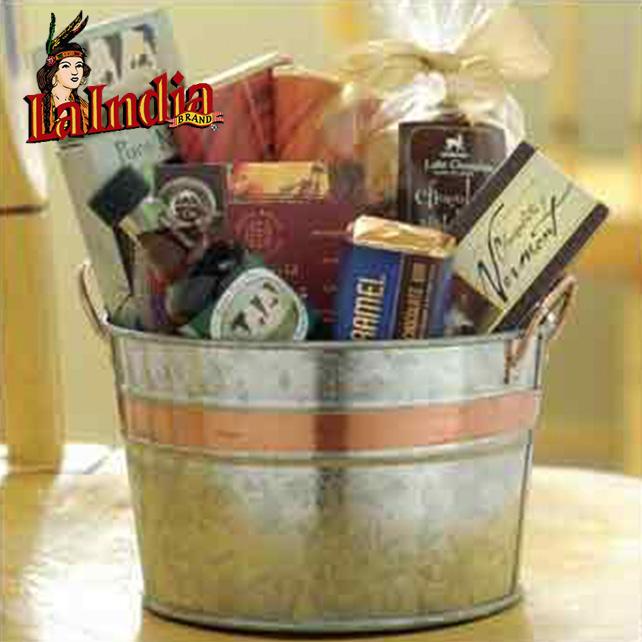 Gift Set Cubeta Metalica Redonda Chica