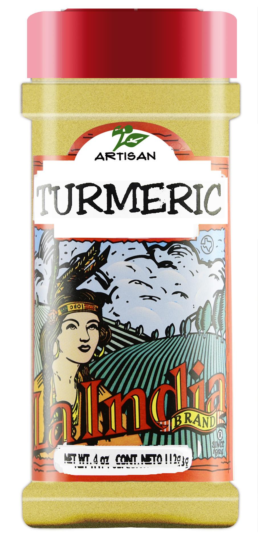 Turmeric Shaker 4.0 oz (unit)