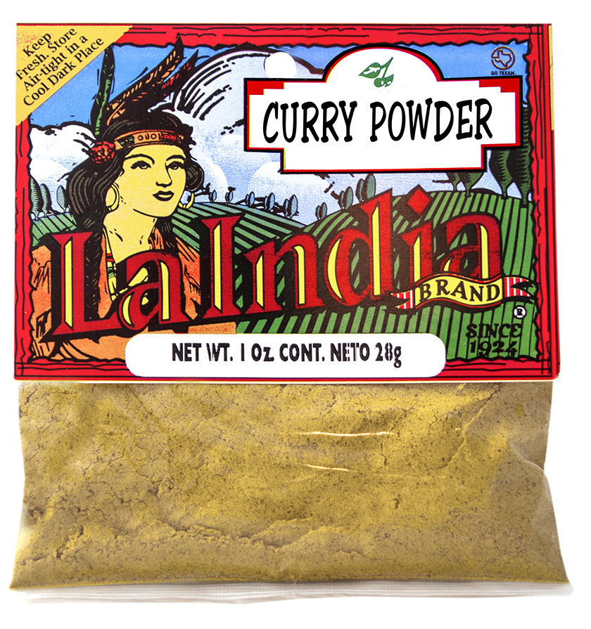 Curry Powder Cello Bags 1.0oz (Unit)