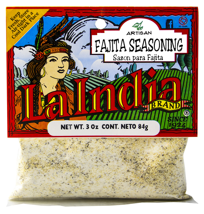 Fajita Seasoning Cello Bags 3.0oz (Unit)