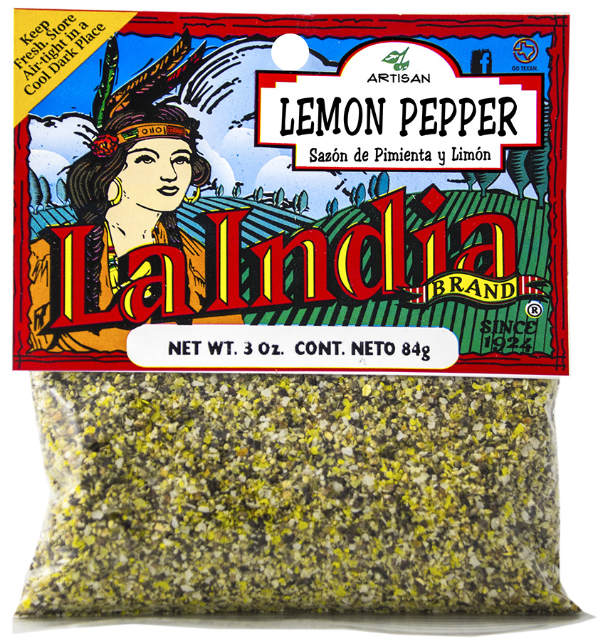 Lemon Pepper Cello Bags 3.0oz (Unit)
