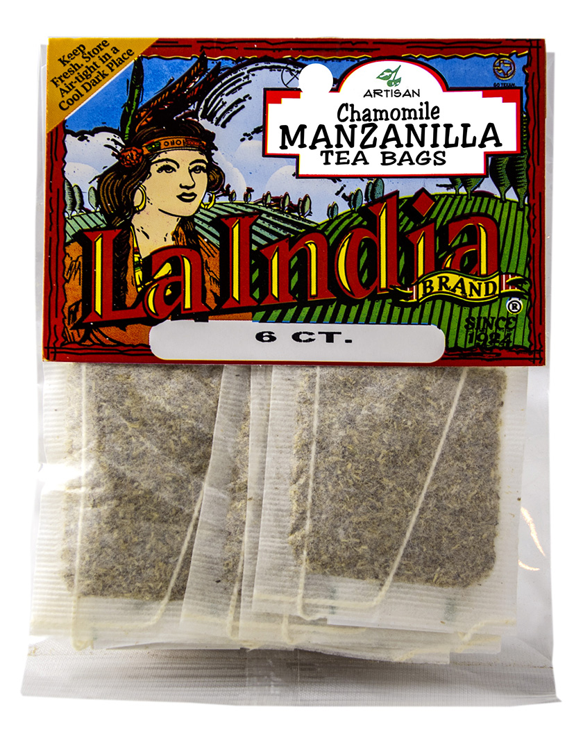Manzanilla Tea Bags Cello Bags 6 units (each)