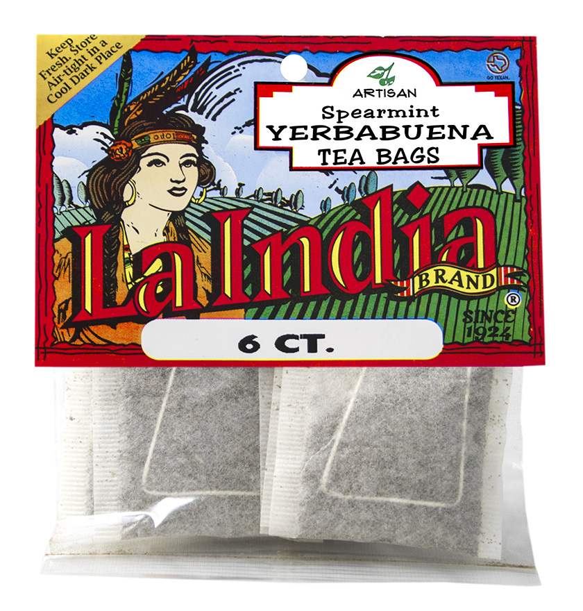 Yerbabuena Tea Bags Cello Bags 6 units (each)