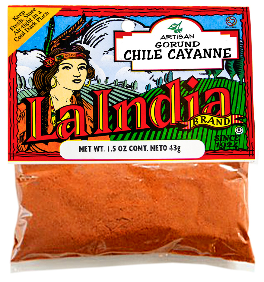 Chile Cayanne Ground Cello Bags 1.5oz (Unit)