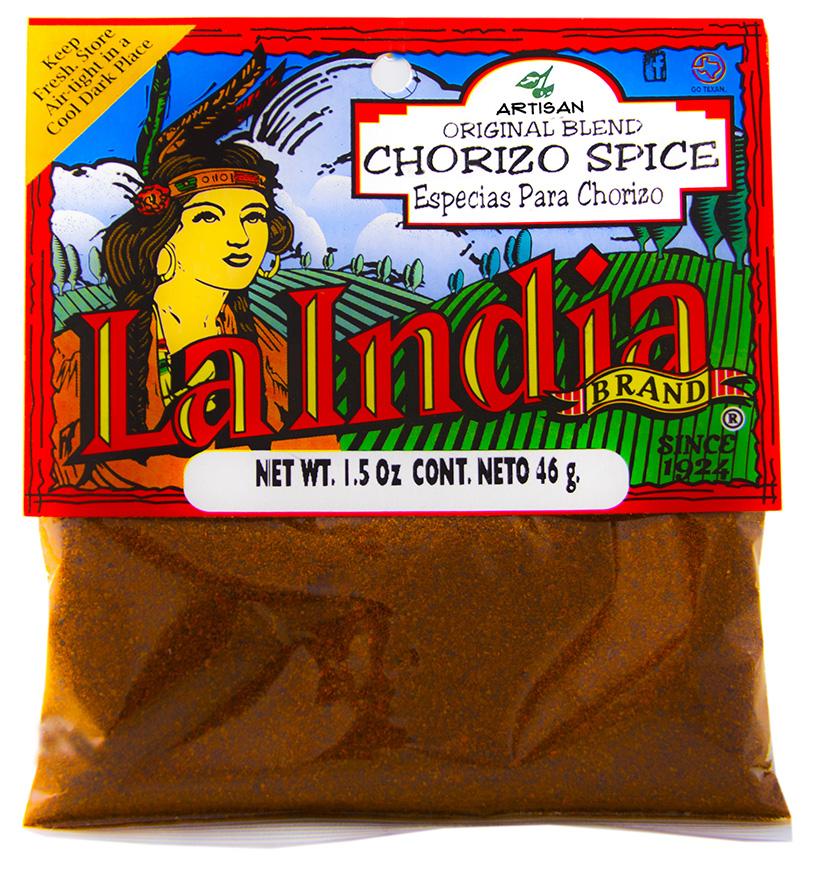 Chorizo Spice Cello Bags 1.5oz (Unit)