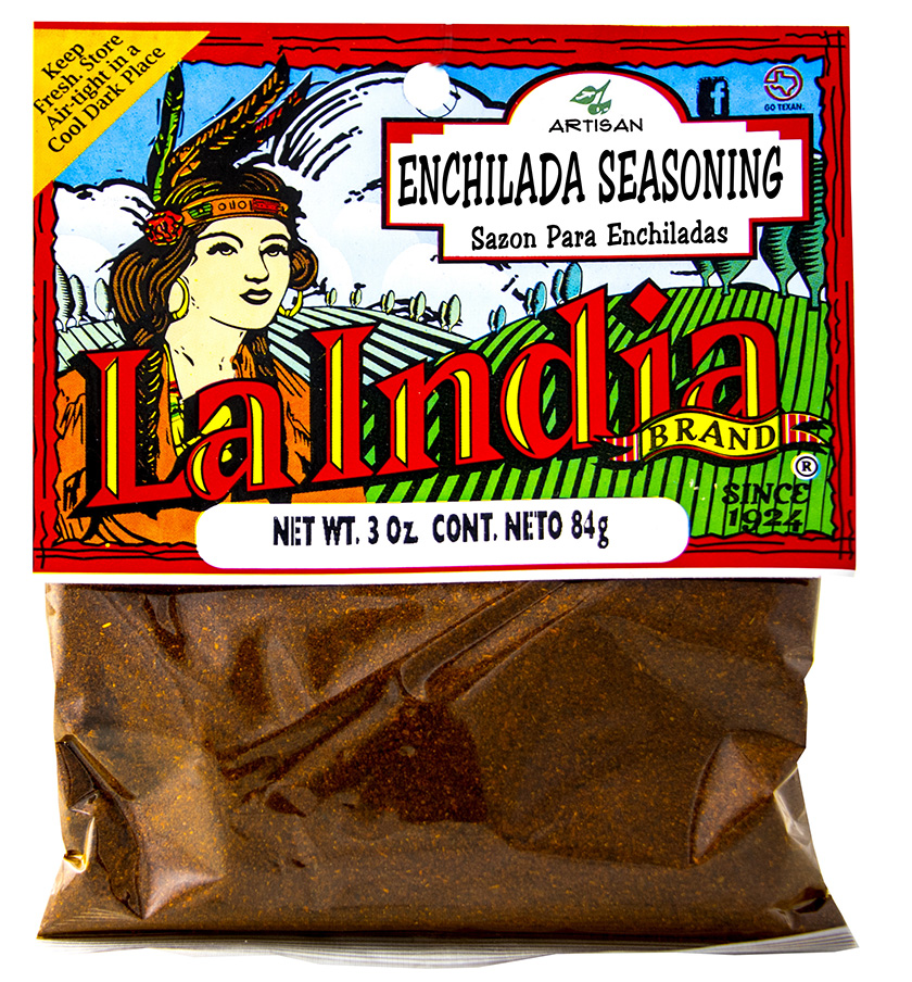 Enchilada Seasoning Cello Bags 3.0oz (Unit)