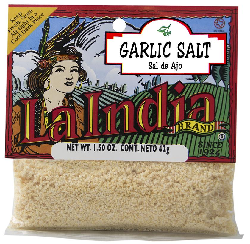 Garlic Salt Cello Bags 1.5oz (Unit)