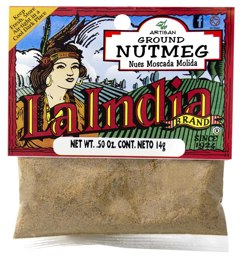 Nutmeg Ground Cello Bags 0.5oz (Unit)