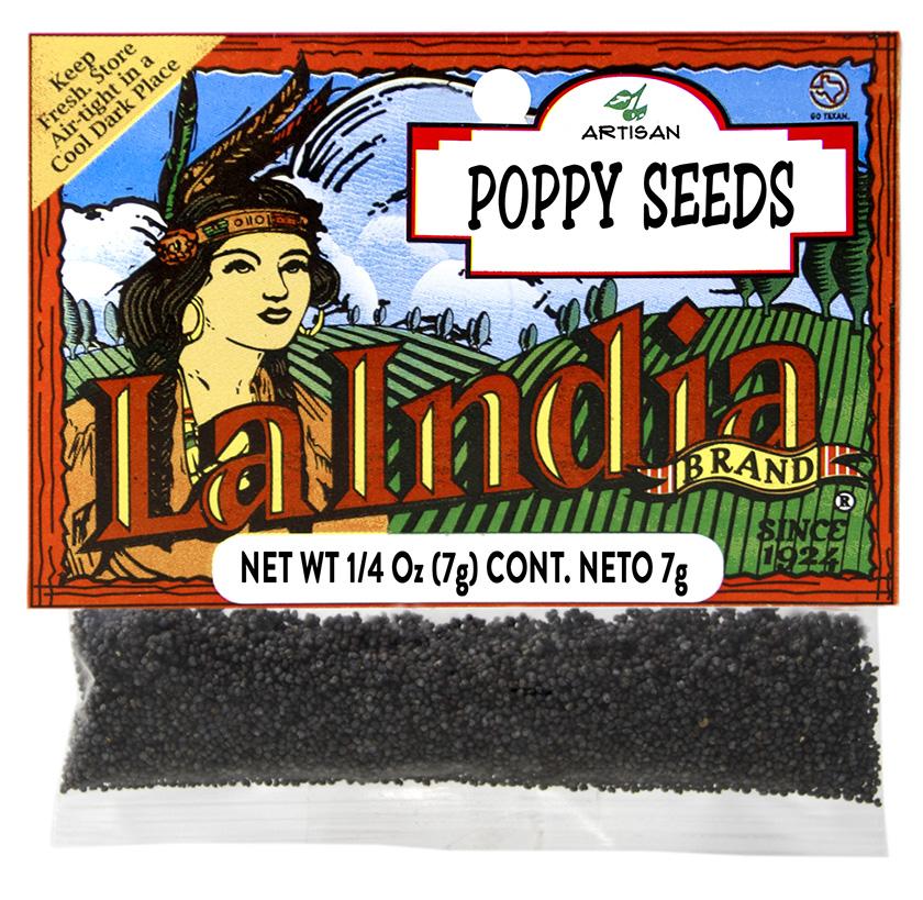 Poppy Seeds Cello Bags 1.0oz (unit)