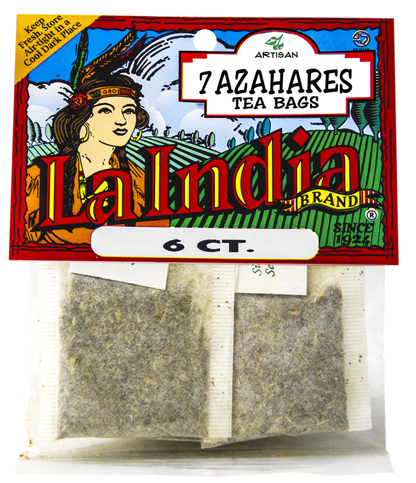 Siete Azahares Tea Bags Cello Bags 6 units (each)