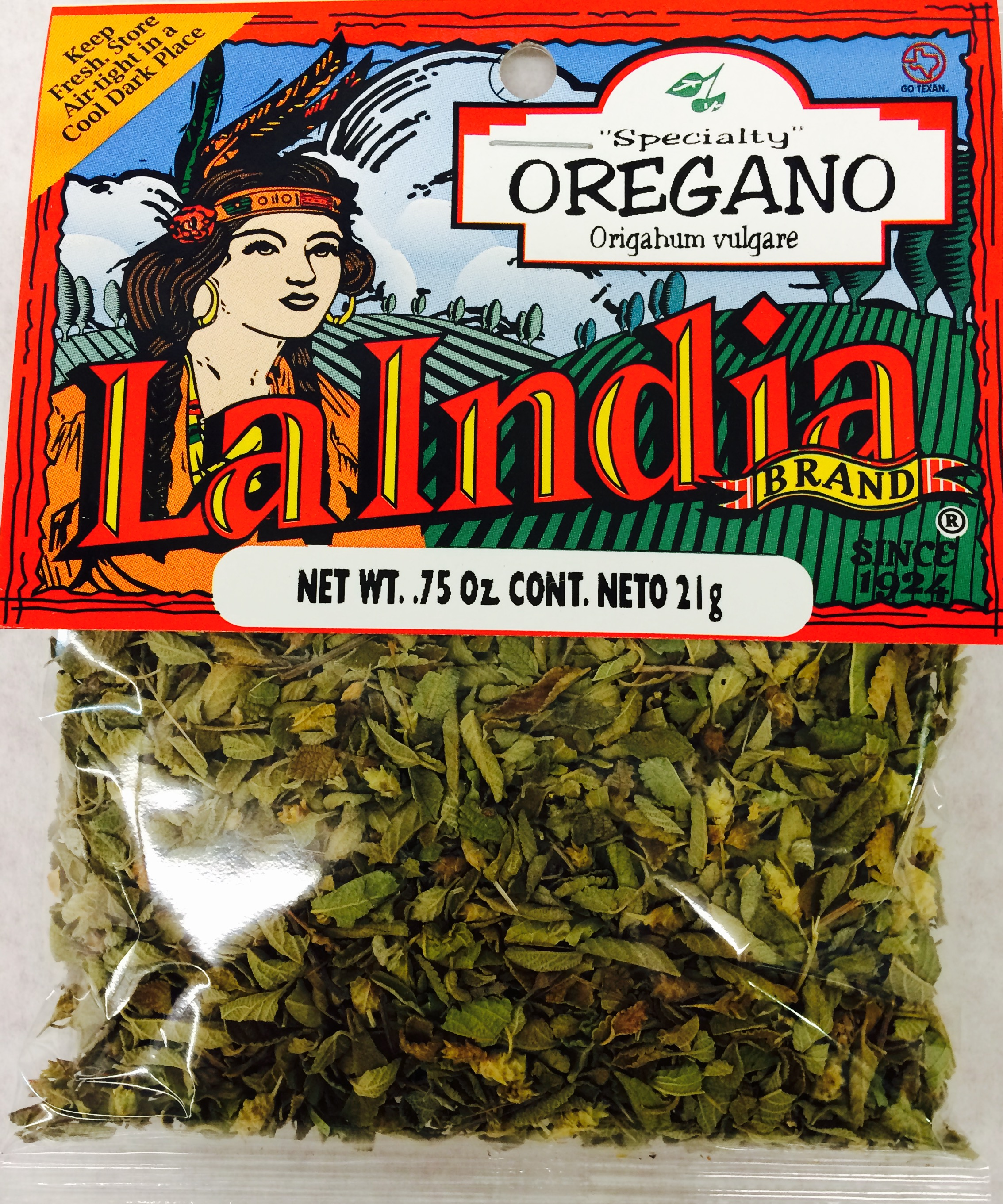 Oregano Whole Chino Cello Bags (Unit)